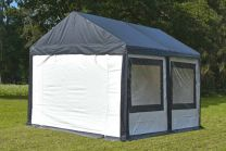 Ultimate Partytent PVC  3x4x2.2 meter in Antraciet-Wit