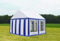 Classic Plus Partytent PVC 3x4x2 mtr in Wit-Blauw