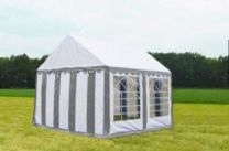 Classic Plus Partytent PVC 3x4x2 mtr in Wit-Grijs