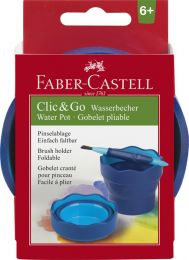 Faber Castell FC-181510 Watercup Clic&Go Blauw