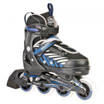 Hudora Inline Skates 37-40 Zwart/Blauw