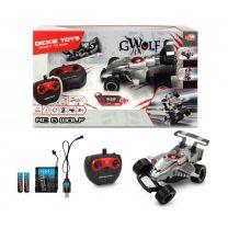 Dickie Toys RC G-Wolf Raceauto + Licht Zilver/Zwart
