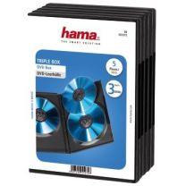 Hama DVD 3 Box 5 Pak Zwart