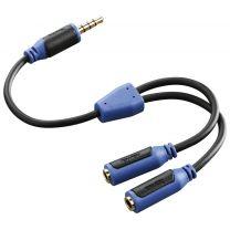Hama Audio-adapter Super Soft Voor PS4