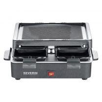 Severin RG2370 Mini Raclettegrill Zwart