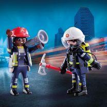 Playmobil 70081 Duo Pack Brandweerlui
