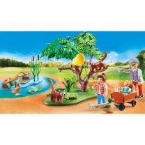 Playmobil 70344 Family Fun Buitenverblijf Rode Panda's