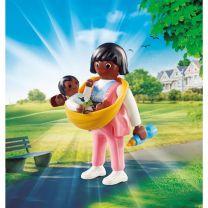 Playmobil 70563 Playmo-Friends Mama met Draagzak