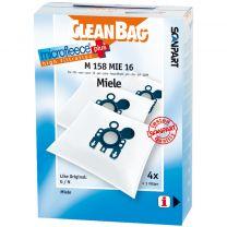 Scanpart M158mie16 Microfleese Stofzak Miele G/n Micro En
