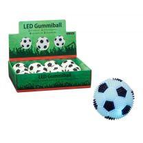 Gummi Led Licht Speelbal 6,5 cm Assorti