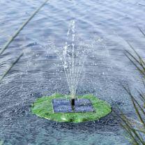 HI Solar fonteinpomp drijvend lotusblad