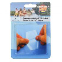 Summer Fun Reparatiekit PVC Folie 5 Stuks