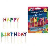 Happy Birthday Verjaardagskaarjes 13 stuks