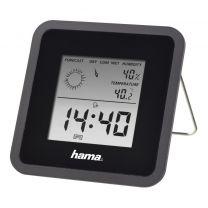 Hama Thermo-/hygrometer TH50 Zwart