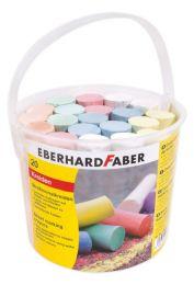 Eberhard Faber EF-526512 Stoepkrijt Emmer Met 20 Krijtjes