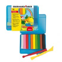 Eberhard Faber EF-572010 Boetseerklei 10 Kleuren In Bewaardoos