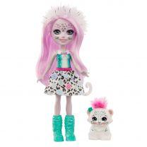 Enchantimals - Sybill Sneeuwluipaard & Flake