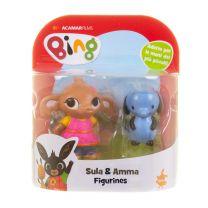 Bing speelfiguren - Sula & Amma