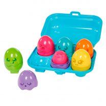Tomy Bright Chicks Eieren