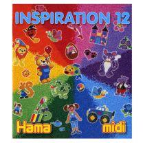 Hama Strijkkralen Inspiration Boekje, nr. 12