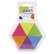 Memoblaadjes Puzzel 6 Kleuren
