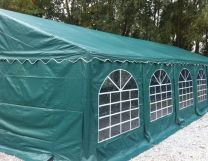 Premium Partytent PVC 4x8x2 mtr in Groen