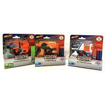 Nerf Strike Microshots met 2 Darts Assorti