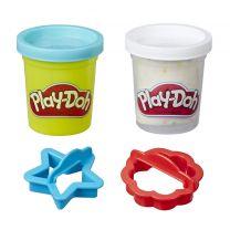 Play-Doh Kitchen Creations Koekjestrommel met 2 Kleuren Klei Assorti