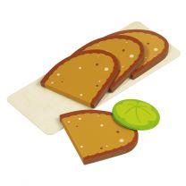 Broodplankje met Boterhammen Hout