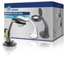 Hq Mag-lamp3b Tafelmodel Loeplamp 12 W Zwart