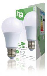 Hq Hqle27a60001 Led-lamp A60 E27 6,5 W 470 Lm 2 700 K