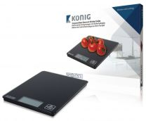König HC-KS12N Digitale Keukenweegschaal Zwart