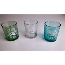 Cosy@Home Elegant Collect Glazen Theelichthouder 3 Stuks