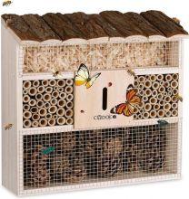 Insectenhotel nestkastje 30,5x9,5x31cm