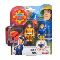 Brandweerman Sam Speelfiguren - Elvis & Penny