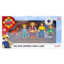 Brandweerman Sam Speelfiguren - De Jones Familie