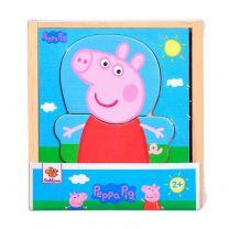 Peppa Pig Houten Aankleedpuzzel