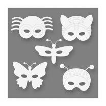 Insectenmaskers Karton, 16st.