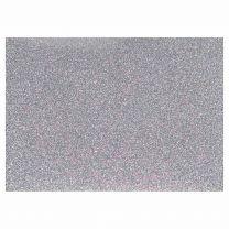 Opstrijkfolie Glitter Zilver, A5