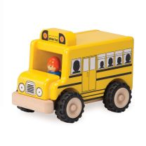 Wonderworld Houten Schoolbus