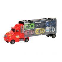 Opberg Autotransporter - Rood