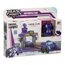 Max Robot Transformeerset Lanceerbaan - Paars