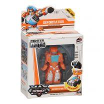 Max Robot Transformeer Auto - Oranje