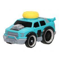 Crash Stunt Auto Licht & Geluid