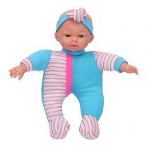 Babypop Blauw, 30cm