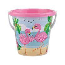 Emmer met Flamingo Print 17 cm