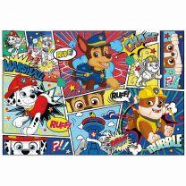 Clementoni SuperColor Puzzel Paw Patrol Strip 104 Stukjes