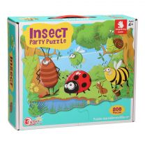 Insect Party Puzzel, 208st.