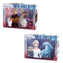King Puzzel Disney Frozen 2 50 Stukjes Assorti