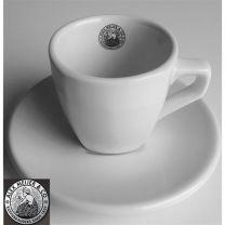 Intermezzo Espresso Kop en Schotel Alex Meijer Logo 3 Stuks